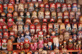 Matryoshkas. Everywhere.