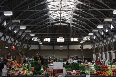 Indoor Produce Market in St. Petersburg