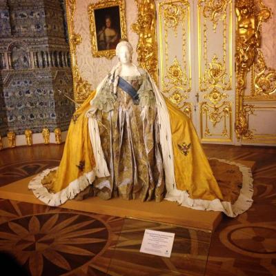 An ornate Russian dress