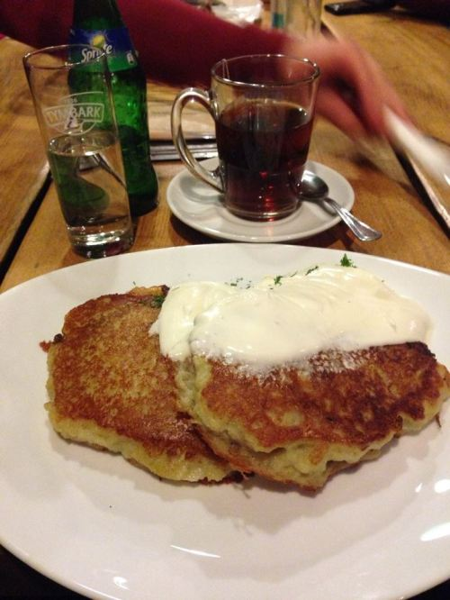 pancaked potatoes