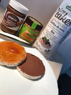 Kristina's snack