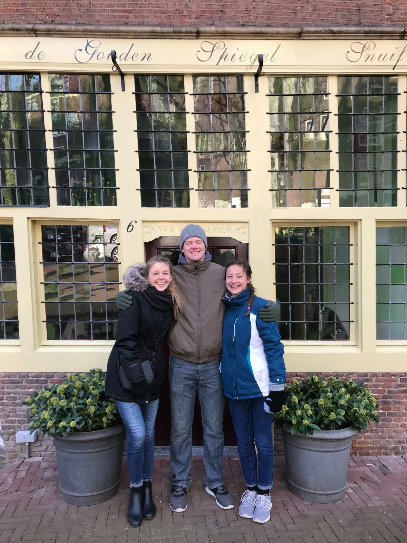 Schwab with Family Amsterdam
