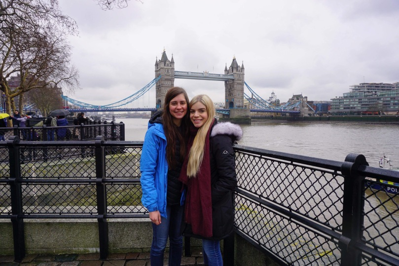 Taylor and McKenna in London